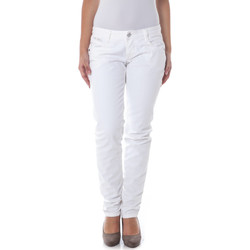 Vêtements Femme Jeans droit The Ninth FRIDA32 blanc 01000