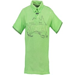 Vêtements Femme Polos manches courtes Geographical Norway KEBEL Polo avec les manches courtes  Homme vert L-GREEN vert L-GREEN