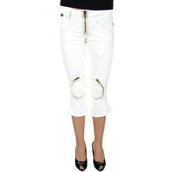Vêtements Femme Pantacourts King's Jeans L670002 blanc 01