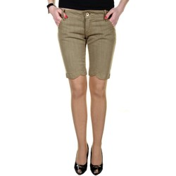 Vêtements Femme Shorts / Bermudas King's Jeans L670006 beige 06