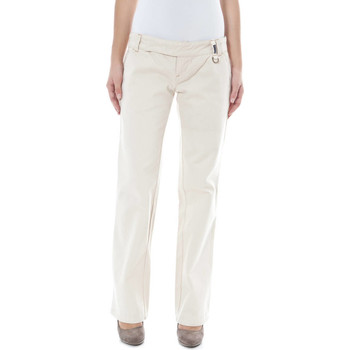Vêtements Femme Chinos / Carrots Phard P17017704206G6 CLEAN beige