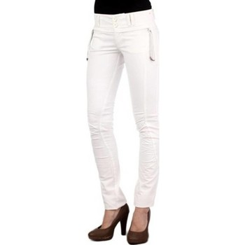 Vêtements Femme Chinos / Carrots Phard P1707424544200 JAD blanc 1100