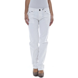 Vêtements Femme Chinos / Carrots Phard P17083715107S1 JEMMA blanc 1100