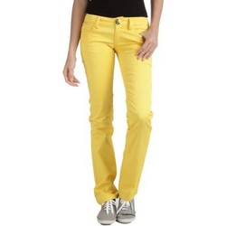 Vêtements Femme Chinos / Carrots Phard P1708710520200 MISS BRADIN jaune 1253