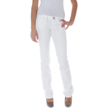 Vêtements Femme Chinos / Carrots Phard P1708870510704 ACACIA blanc 1100