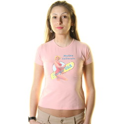 Vêtements Homme T-shirts manches courtes Just For You STSS1 SURF T-SHIRT MANICHE CORTE Femme rose rose