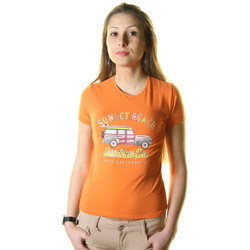 Vêtements Homme T-shirts manches courtes Just For You STSS8 AUTO T-SHIRT MANICHE CORTE Femme orange orange