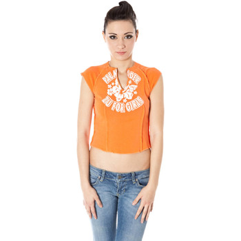 Vêtements Femme T-shirts manches courtes Zuelements Z1102080B001F7 T-SHIRT MANICHE CORTE Femme orange 3300 orange 3300