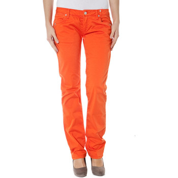 Vêtements Femme Chinos / Carrots Zuelements Z170305057964U BASIC-BURLA Pantalon  Femme orange 3306 orange 3306