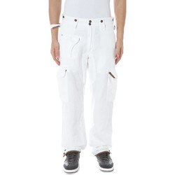 Vêtements Homme Chinos / Carrots Zuelements Z470074464030H TEMO BLANC B001