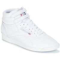 Chaussures Femme Baskets basses Reebok Classic FREESTYLE HI Blanc / Argent