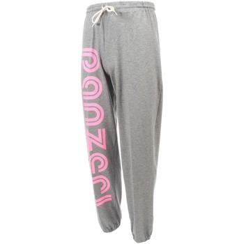 Vêtements Homme Pantalons de survêtement Panzeri Uni h grc fl rose jersey Gris chiné