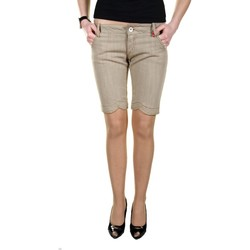 Vêtements Femme Shorts / Bermudas King's Jeans L670006 beige 04