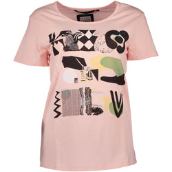 Vêtements Femme T-shirts manches courtes Silvian Heach PGP16768TS NW BOSIAG ROSE ROSE