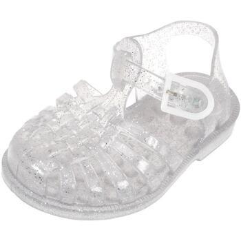 Chaussures Fille Sandales et Nu-pieds Méduse Sun agt paillete cadet Argent métalisé