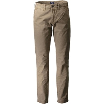 Vêtements Homme Chinos / Carrots Gant 1601.1916656 MARRON 336