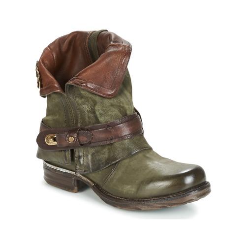 Chaussures Femme Boots Airstep / A.S.98 SAINT BIKE Kaki
