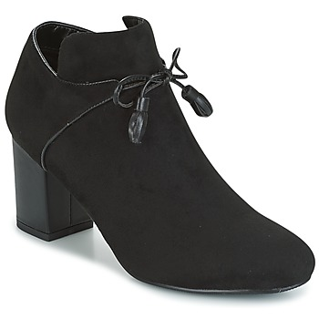 Chaussures Femme Low boots Moony Mood HERALAM Noir