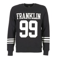 Vêtements Homme Sweats Franklin & Marshall GECAR Noir / Blanc