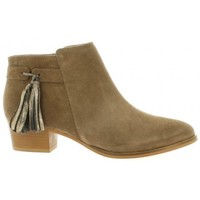 Chaussures Femme Boots We Do Boots cuir velours Taupe