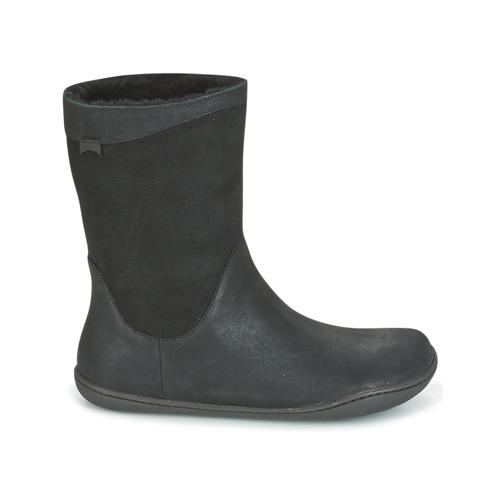 Boots Camper Femme Peu Cami Noir 4j3LqR5A