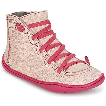 Chaussures Fille Baskets montantes Camper PEU CAMI Rose
