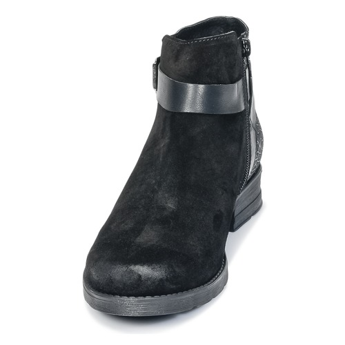 Femme Boots Coto Bunker Noir Chaussures ZOPukXi