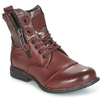 Chaussures Femme Boots Bunker SARA Bordeaux