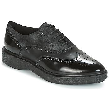 Chaussures Femme Derbies Geox D PRESTYN  Noir