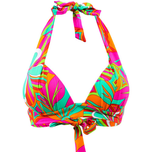 Vêtements Femme Maillots de bain séparables Emmatika Maillot de bain Triangle Jungle Tcoq Multicolore MULTICOLORE