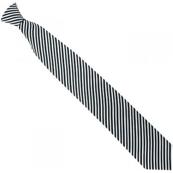 Vêtements Homme Cravates et accessoires Andrew Mc Allister cravate en soie smart noir Noir