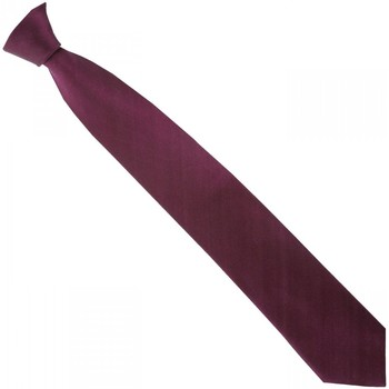 Vêtements Homme Cravates et accessoires Andrew Mc Allister cravate en soie smart rouge Rouge