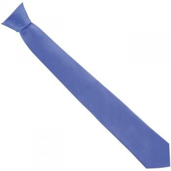 Vêtements Homme Cravates et accessoires Andrew Mc Allister cravate en soie classic bleu Bleu