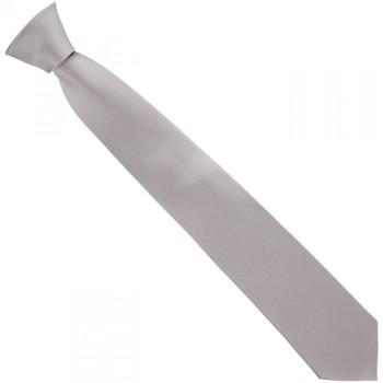 Vêtements Homme Cravates et accessoires Andrew Mc Allister cravate en soie classic gris Gris