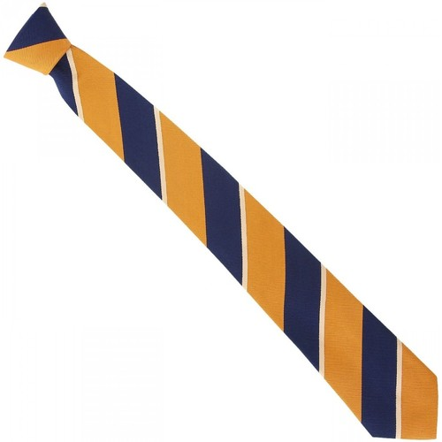 Vêtements Homme Cravates et accessoires Emporio Balzani cravate en soie club orange Orange