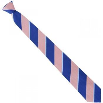 Vêtements Homme Cravates et accessoires Emporio Balzani cravate en soie club rose Rose