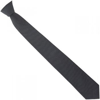 Vêtements Homme Cravates et accessoires Emporio Balzani cravate en soie pois noir Noir
