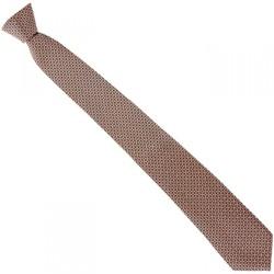 Vêtements Homme Cravates et accessoires Emporio Balzani cravate en soie jacquard orange Orange