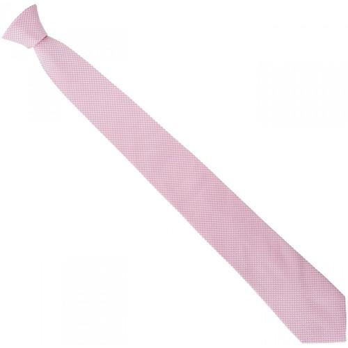 Vêtements Homme Cravates et accessoires Emporio Balzani cravate en soie jacquard rose Rose