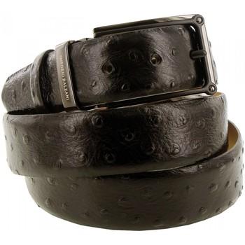 Accessoires textile Homme Ceintures Emporio Balzani ceinture cuir autriche noir Noir