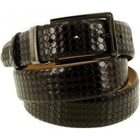Accessoires textile Homme Ceintures Emporio Balzani ceinture cuir setino noir Noir
