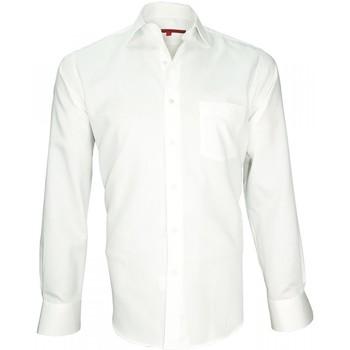 Vêtements Homme Chemises manches longues Andrew Mc Allister chemise classique tradition blanc Blanc