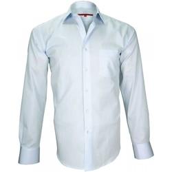 Vêtements Homme Chemises manches longues Andrew Mc Allister chemise classique tradition bleu Bleu