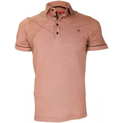 Vêtements Homme Polos manches courtes Andrew Mc Allister chemise brodee plymouth marron Marron