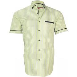 Vêtements Homme Chemises manches longues Andrew Mc Allister chemisette sport dixon vert Vert