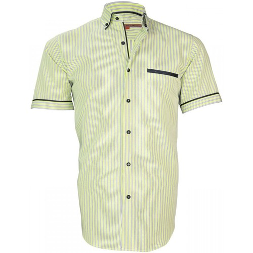 Vêtements Homme Chemises manches longues Andrew Mac Allister chemisette sport dixon vert Vert