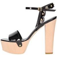 Chaussures Femme Sandales et Nu-pieds Emporio Di Parma 820 Sandale Femme noir noir