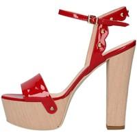 Chaussures Femme Sandales et Nu-pieds Emporio Di Parma 820 Sandale Femme rouge rouge