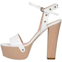 Chaussures Femme Sandales et Nu-pieds Emporio Di Parma 820 Sandale Femme blanc blanc