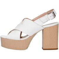 Chaussures Femme Sandales et Nu-pieds Emporio Di Parma 826 Sandale Femme blanc blanc